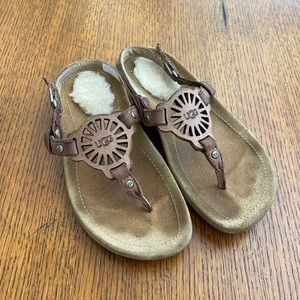 Ugg Little Girl Strapy Sandals